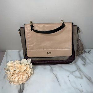 Mercer and Madison Leather and Suede Boho purse ba